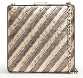 mango metallic clutch