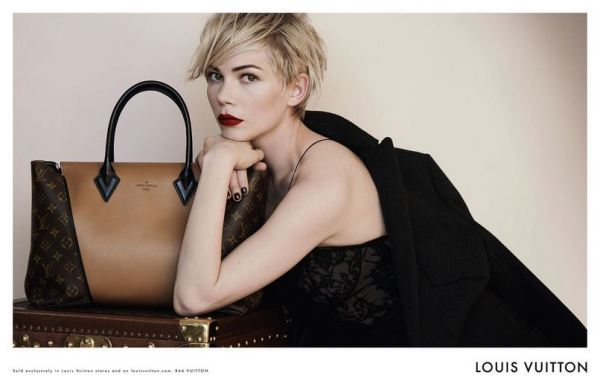 Michelle Williams for Louis Vuitton'