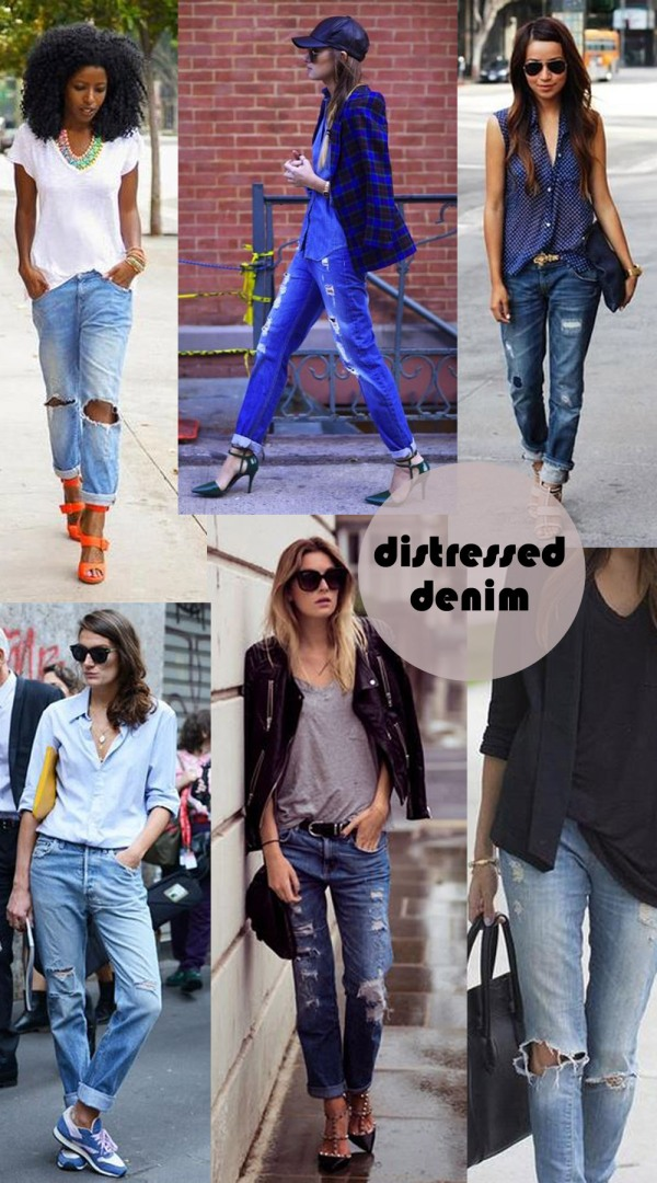 distressed denim | The Pretty Dish Lifestyle Blog