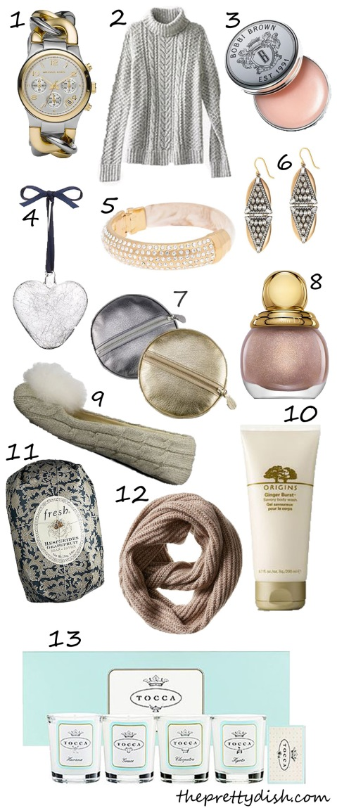 The Pretty Dish Gift Guide FOR HER