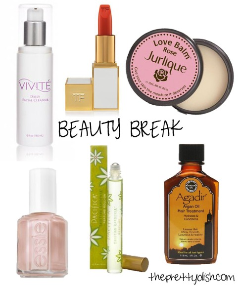 Beauty break June 2014 collage